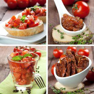 Tomaten zubereiten