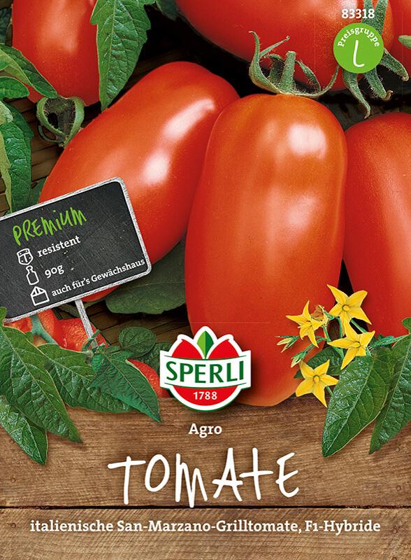 San-Marzano-Tomate 'Agro' (F1) von SPERLI